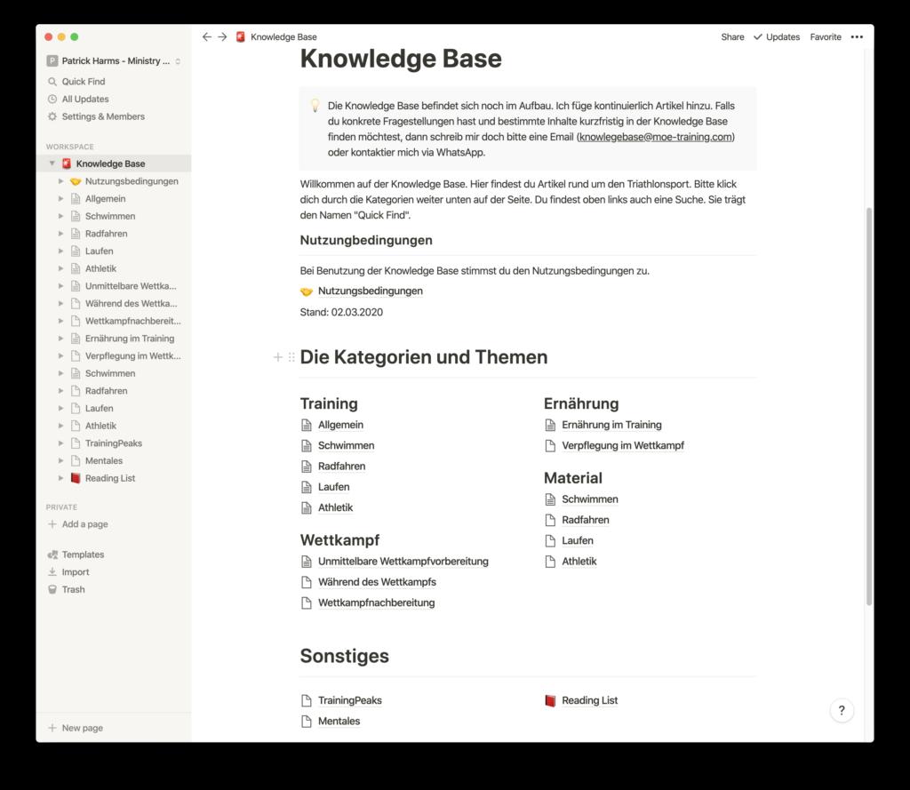 Beispielinhalt - Inhaltsverzeichnis