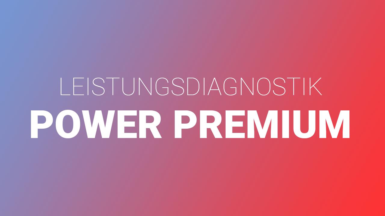 Logo Leistungsdiagnostik Power